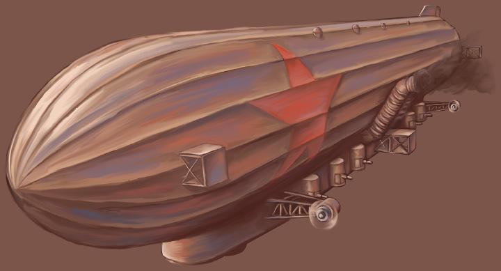 モシリカラカムイ型戦略飛行船