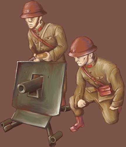 五式平射歩兵砲